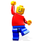 """Вафельные и сахарные картинки - """"Лего Муви"""""""