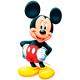 """Вафельные и сахарные картинки - """"Микки Маус"""""""