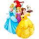 """Вафельные и сахарные картинки - """"Принцесы Диснея"""""""