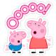 """Вафельные и сахарные картинки - """"Свинка Пеппа"""""""