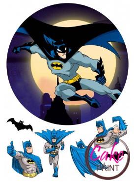 Съедобная картинка «Бетмен» №001