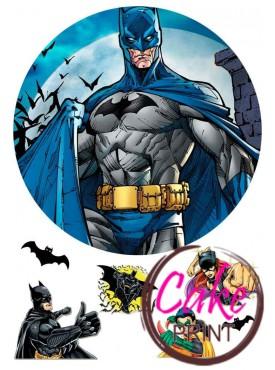 Картинка на торт «Бетмен» №002