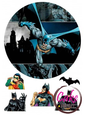 Вафельная картинка «Бетмен» №004