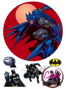 Сахарная картинка «Бетмен» №005
