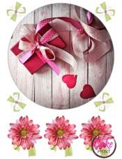Картинка на торт «День влюбленных» №002