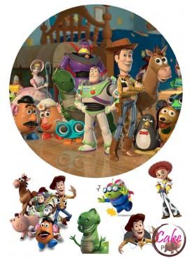 Вафельная картинка «История игрушек» №004
