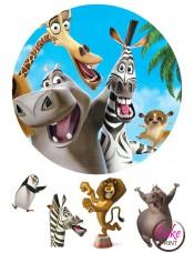 Пищевая картинка «Мадагаскар» №003