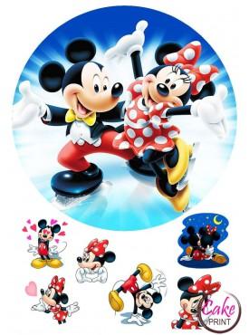 Съедобная картинка «Микки Маус» №001