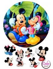 Картинка на торт «Микки Маус» №002