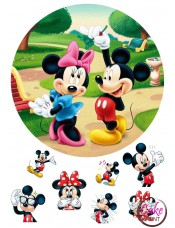 Пищевая картинка «Микки Маус» №003