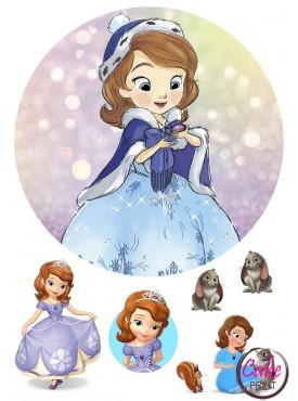 Картинка на торт «Принцесса София» №002