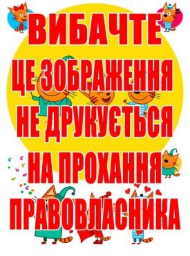 Картинка на торт «Три Кота» №002