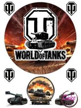"Пищевая картинка - Танки | ""World of Tanks"" №003"