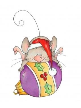 """Набор кондитерская формочка для пряника + трафарет Print Cake - """"Мышка на шарике"""" №003 13х10.7 см"""