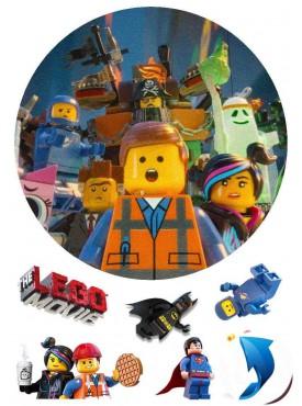 Съедобная картинка «Лего муви» №001
