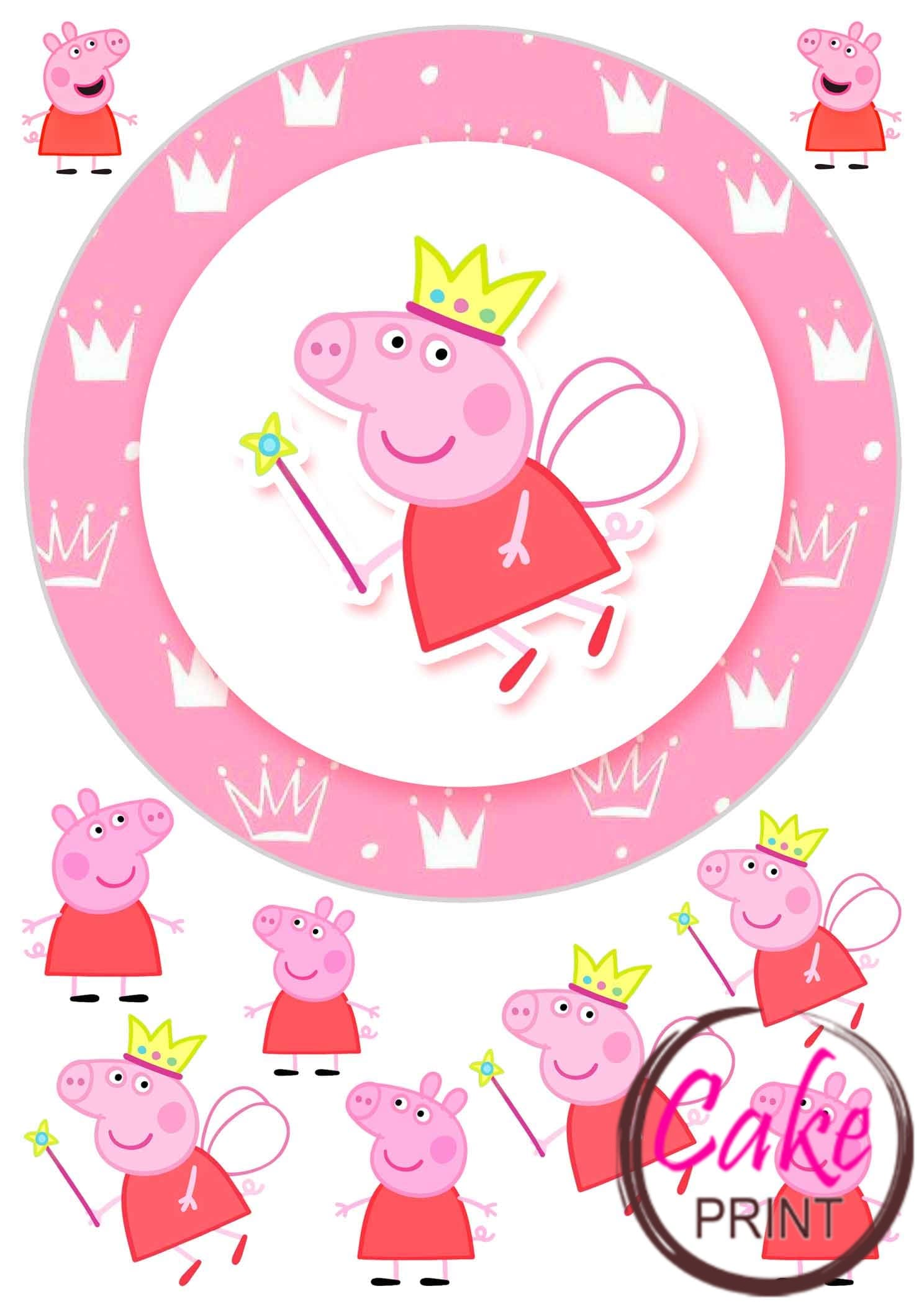 телевизору свинка пеппа сахарные картинки обоснование
